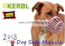 KERBL Dog Safe Muzzle 4-es barna kényelmes szájkosár (81014)
