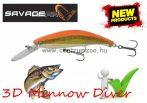 Savage Gear 3D Minnow Diver 9.5cm 19g F 02-Golden Albino wobbler (57369)