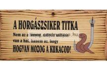 FATÁBLA A HORGÁSZ SIKER TITKA (TREF2-012)