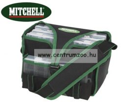 Mitchell ACC Luggage Tackle Box Medium Premium pergető táska dobozokkal (1309300) NEW