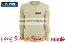 Fin-Nor Long Sleeve Shirt sand color hosszúujjú póló (8938003)