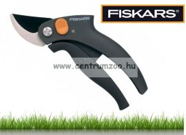 FISKARS PowerLever™ Párhuzam metszőolló fekete (111340)