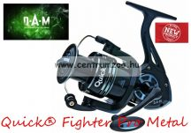 D.A.M Quick® Fighter Pro Metal 350 FD 2+1BB elsőfékes orsó  (D51831)