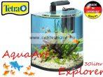 Tetra AquaArt Explorer 30l-es komplett prémium ÍVES akvárium szett halaknak (236875)