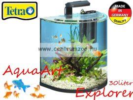 Tetra AquaArt Explorer 30l-es komplett prémium ÍVES akvárium szett (236875)