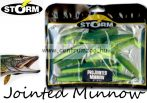 Storm Jointed Minnow PJM06 gumihal csomag 15cm 7db Green Chartreuse (GRCH)