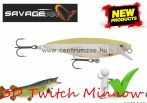 Savage Gear 3D Twitch Minnow 6.6cm 5g SS 04-Lemon Back wobbler (57375)