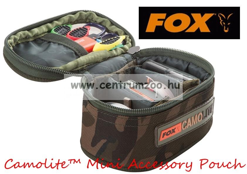 29fb915ed4 Fox Camolite™ Mini Accessory Pouch rekeszelt aprócikkes táska (CLU319)