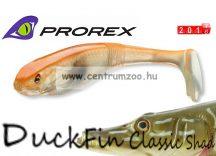 Daiwa Prorex DuckFin Classic Shad 125DF BB  prémium gumihal 12,5cm - Ghost Orange (16722-002)