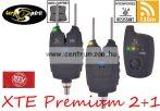 Carp Spirit XTE Premium 2+1 Alarm Set elektromos kapásjelző szett 2+1 (ACS490020)