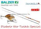 BALZER Diabolo Neo Twitch Special pergető bot 1,95m 5-20g (11037195)