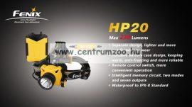 fejlámpa  FENIX HP20 NEW FEJLÁMPA (230 LUMEN) vízálló