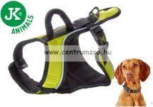 JK Animals X-TRM Trekking  25x550-670mm  állítható prémium hám zöld kutyahám (41022-1)