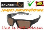 Savage Gear Shades Floating Polarized Sunglasses - Amber napszemüveg (57573)