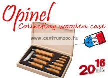 OPINEL Collecting Wooden Case 10db-os zsebkés szett  (12183102)