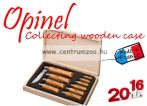 OPINEL Collecting Wooden Case 10db-os zsebkés szett  (12183102)