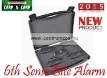Carp Zoom 6th Sense Bite Alarm Sets - Hatodik érzék elektromos kapásjelző szett 3+1 (CZ7956)