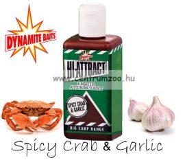Dynamite Baits HI-ATTRACT – Spice Crab & Garlic fűszeres rák és fokhagyma folyékony aroma 250ml (DY834)