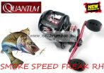 Zebco Quantum SMOKE SPEED FREAK RH 100XPTA multipikátoros pergető orsó 11cs (0523100)