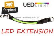 Ferplast LED EXTENSION Light G25/37 Yellow világító póráz betét kiskutya-cica (75190399) sárga