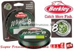 Berkley Whiplash 8 0,12mm 150m Green fonott zsinór (1446650) 2018NEW