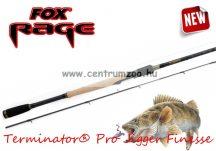 FOX Rage Terminator® Pro Jigger Finesse 240cm 5-25g 2pc pergető bot (NRD199) + ajándék wobbler