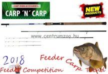 Carp Zoom Feeder Competition Carp Feeder 360cm 40-120g  3+3 részes feeder bot (CZ6742)