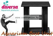 Diversa Cabinet Budget Black 60x30x60cm akvárium szekrény, állvány fekete színben