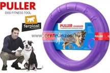 Ferplast Puller Standard - Dog Toy kutya játék húzogató és dobó karika 27x8,5cm 2db (86783099)