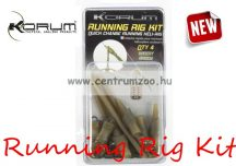 Korum Running Rig Kit (KRA/37) SZERELÉK