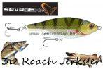 Savage Gear 3D Roach Jerkster 115 11,5cm 39g SS 03-Perch gumihal (62228)