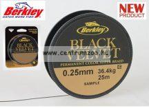 Berkley Black Velvet 110m 0,18mm 19,2kg új fonott zsinór