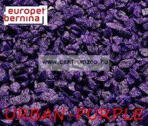 EUROPET BERNINA Aqua D'ella Glamour Stone 6/9mm 2kg URBAN-PURPLE akváriumi kavics aljzat (257-420553)