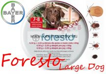 FORESTO REPELLENS KULLANCS- ÉS BOLHANYAKÖRV 70cm 8kg feletti kutyáknak