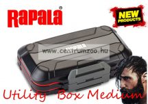Rapala Utility Box Medium 17,2x10,2x5,1cm jig fejes és műcsalis doboz  (RUBM)