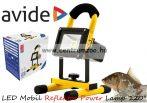 keresőlámpa Avide LED Mobil Reflektor Power Lamp 120° 4000K 20W kézi lámpa (ABRFLNW-20W)