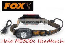 fejlámpa  FOX Halo MS300c Headtorch PRÉMIUM LED FEJLÁMPA mozgásérzékelővel (CEI163)