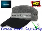Shimano Tweed Work Cap Grey Balck New baseball sapka (59YCA076P1F)