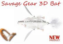 Savage Gear 3D Bat 12,5cm 54g Albino (58331) denevér formájú műcsali