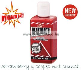 Dynamite Baits HI-ATTRACT – STRAWBERRY & SCOPEX NUT folyékony aroma 250ml (DY804)