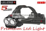 LED LENSER XEO19RB Led fejlámpa Li ION 2000lm 300m XEO19RB-7319-RB BLACK