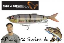 Savage Gear 4Play V2 Swim & Jerk 13,5cm 20g SS 03-Perch gumihal (61727)