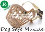 JK Animals Dog Safe Muzzle C5 Extra-Large kényelmes szájkosár (44225)