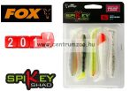 Fox Rage Spikey Shad Mixed Colours  9cm prémium gumihal 5db (NSL833)