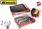 Rsonic 3in1 Hordozható hatékony gázfőző, grillező és sütő (RS-4030)