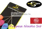 fűzőtű - Carp Spirit All Purpose Needle Set fűzőtű szett 4db-os (ACS010269)
