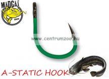 MAD CAT MADCAT A-STATIC JIG HOOK #8/0 / SB=4 harcsa horog (55951)