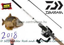 Daiwa D Feeder 11MQ Feeder D4000 Reels Combo feeder szett 3,3m bot 4000-es orsó (DF11MQ&DMF4000)(206652) AKCIÓ