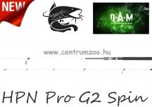 D.A.M HPN Pro G2 Spin 1,95m 6,6' 5-25g  pergető bot (2805195)