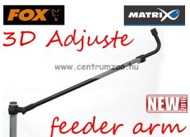 FOX Matrix 3D Adjustable Feeder arm 25/30mm prémium feeder tartó kar (GMB110)